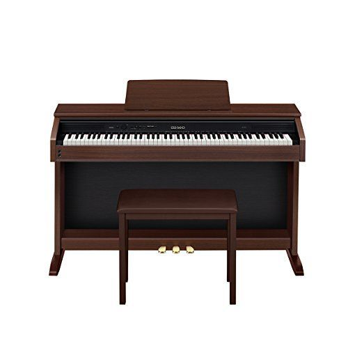 Casio AP250 Celviano 88-Key Digital Piano with Bench - Oak Brown *** You can find out more details at the link of the image.