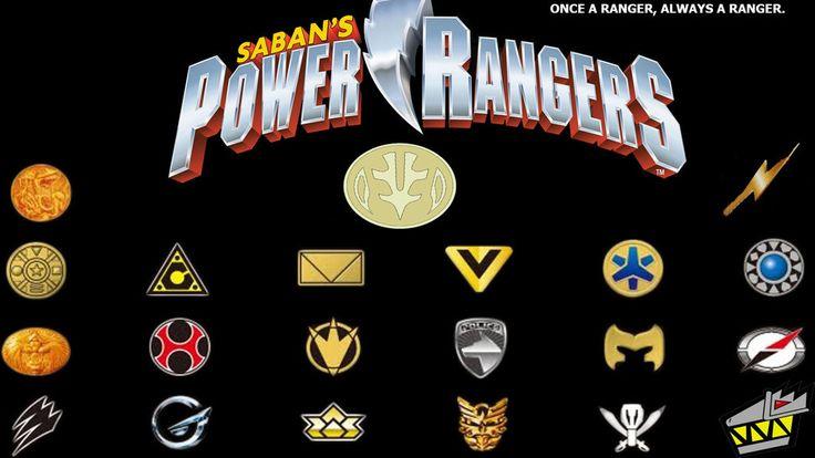 Super Sentai Symbols Power Ranger Symbols Machai S