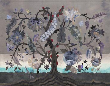 Norwegiancrafts.no 'Sombre Tree', Inger Johanne Rasmussen
