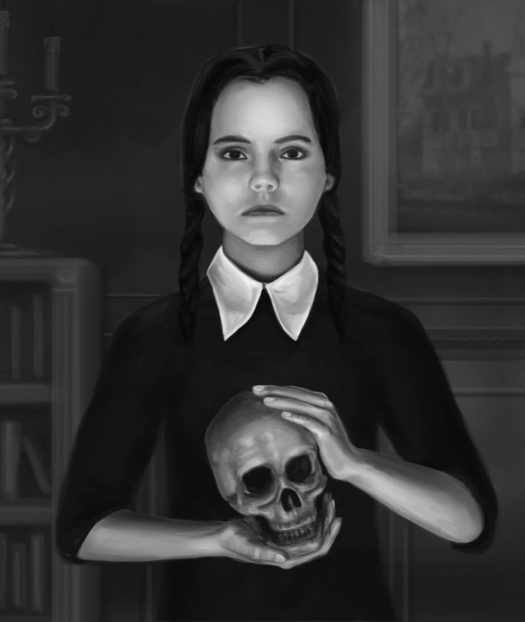 ArtStation - Wednesday Addams, Markel Carter