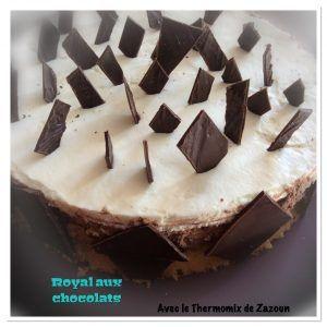 Gâteau royal aux deux chocolats thermomix