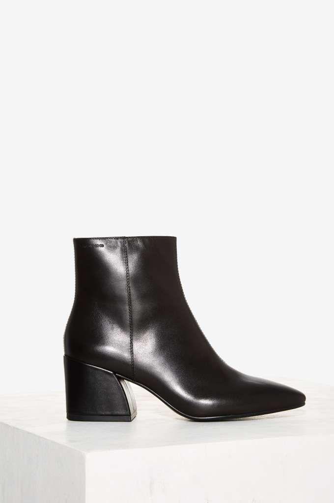 Vagabond Olivia Leather Boot - Black