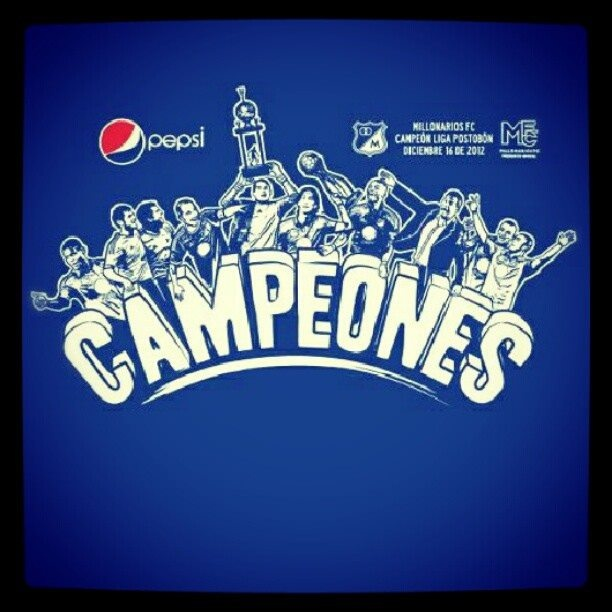 We are the champions.