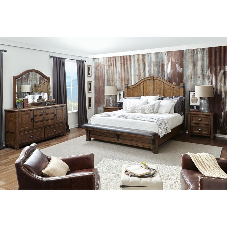 Eric Church Heartland Falls King Bedroom Group  by Eric Church's Highway to Home by Pulaski at Darvin Furniture