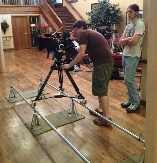 DIY Camera Dolly & Track System