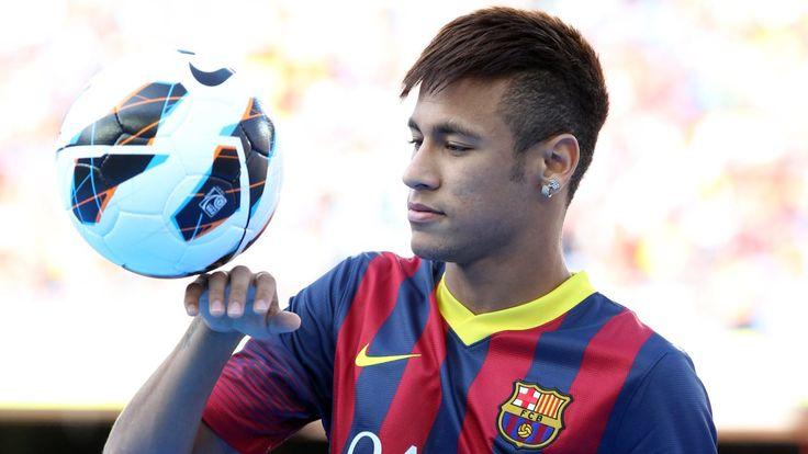 Neymar Barcelona - http://www.wallpapersoccer.com/neymar-barcelona.html