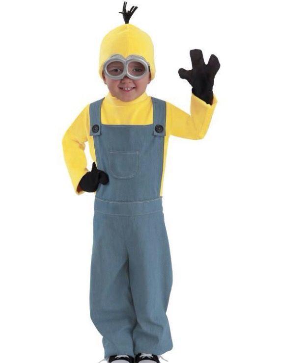 Kinder kostuum despicable me Minion