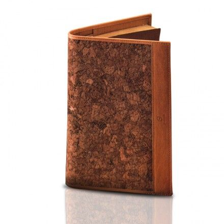 CORK-LEATHER DIARY  Cork-Leather Diary, cm.23×16, cover in kidskin and cork-leather, internal pocket N° 3 models available.