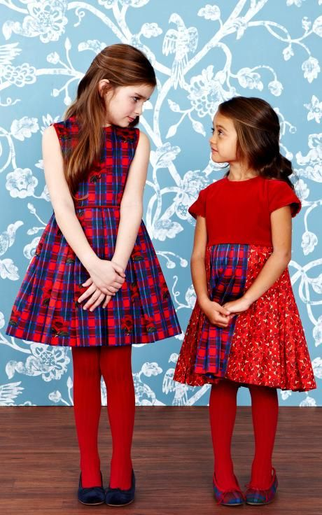 Oscar de la Renta Childrenswear Fall/Winter 2014 Trunkshow Look 11 on Moda Operandi