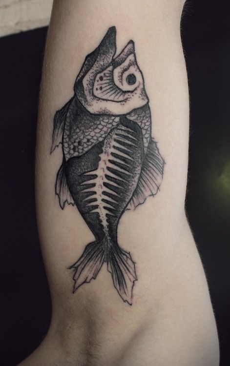 Fish Tattoos for Arm