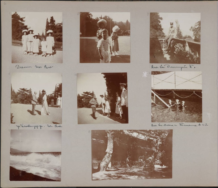 Romanov family photo albums - online archive of hundreds of candid photos.   http://beinecke.library.yale.edu/dl_crosscollex/romanov_album.htm