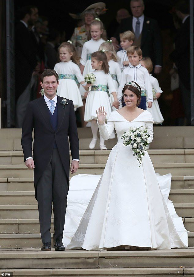 Princess Eugenie Royal Wedding Guests Given Goodie Bags Eugenie