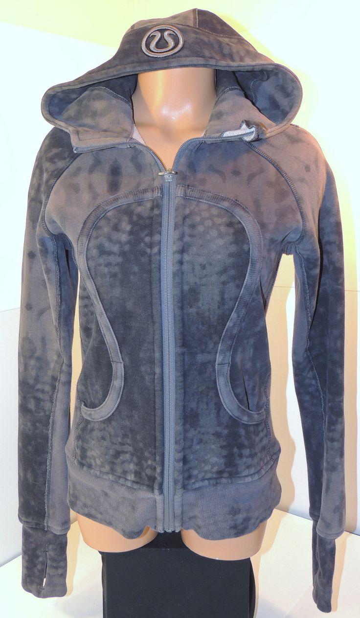 Lululemon Black & Gray Full Zip Thumb Sleeve Hooded Jacket Sz M   http://www.ebay.com/itm/Womens-Lululemon-Black-Gray-Full-Zip-Thumb-Sleeve-Hooded-Jacket-Sz-M-882-/221855085370  @Lululemon #hoodie