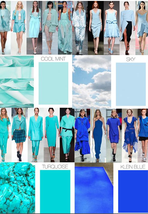S/S 2015 Colour Trends