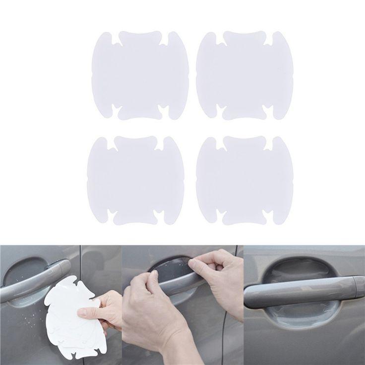 4pcs car handle protection film car exterior automotive accessories for LADA Priora Niva Samara Kalina XRAY Vesta X-Ray