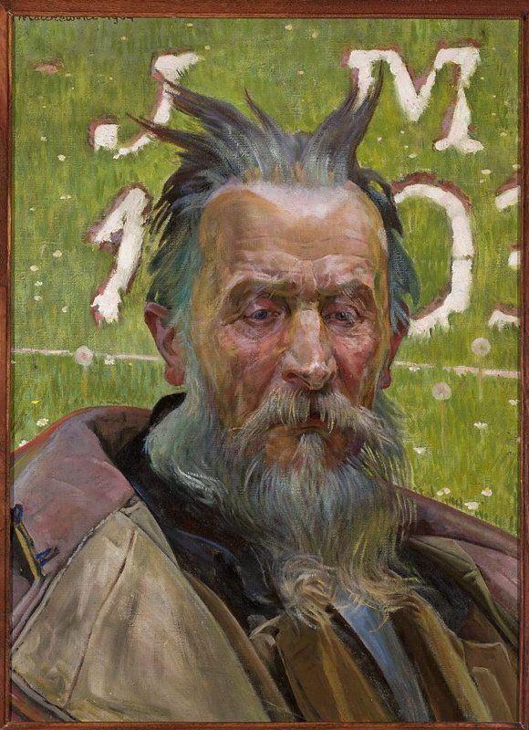 Jacek Malczewski (1854-1929) 🇵🇱🎨    Mojżesz  1904