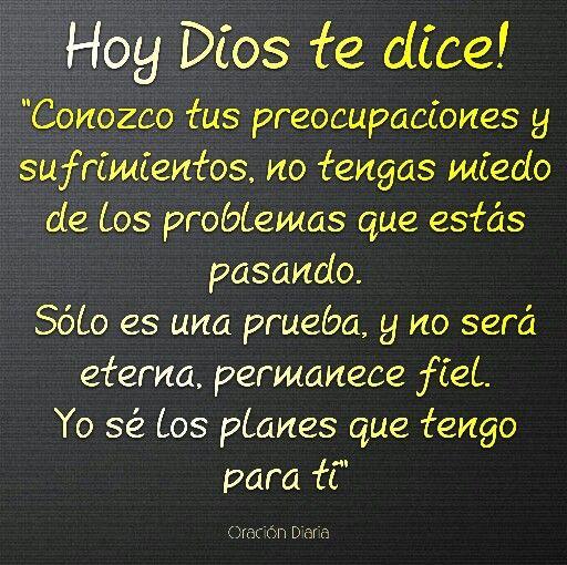 Hoy Dios te dice!