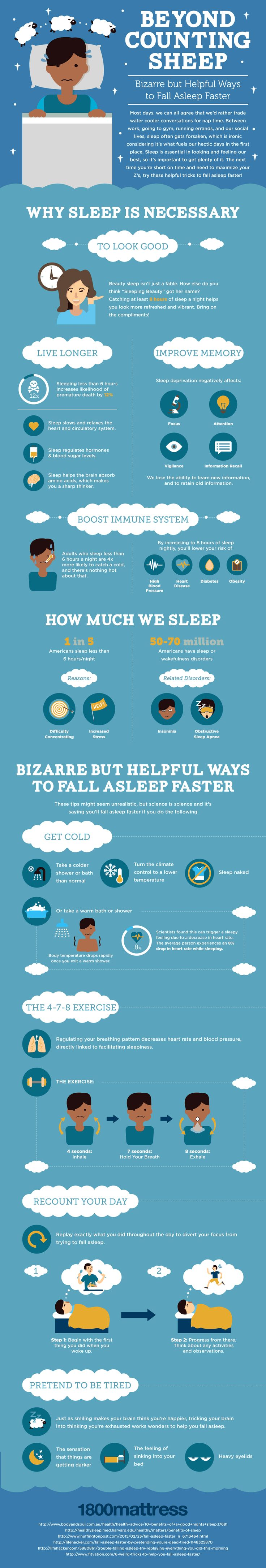 Beyond Counting Sheep #Infographic #Health #Sleep