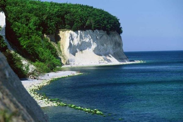 Chalk Cliffs on Rügen (Kreidefelsen auf Rügen)