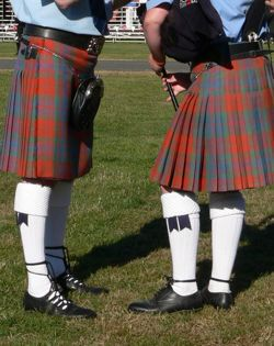 Пример шотландского килта