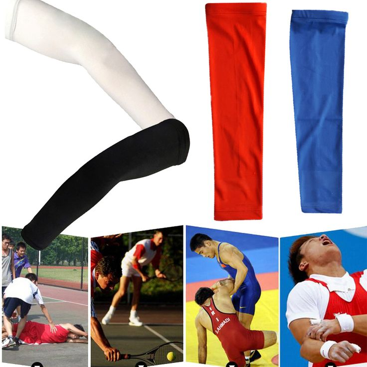 New Arrival Elastic Basketball Brace Support Lengthen Arm Sleeve Guard Sports Safety Protection Elbow Pads Arm Warmers