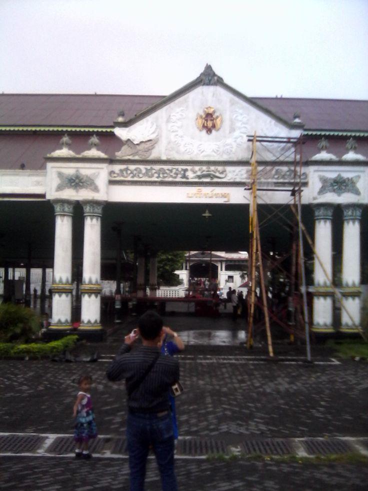 the kingdom in jogjakarta city