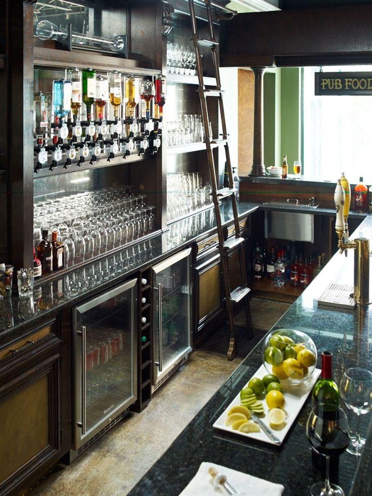 Custom Pub Or Home Bar. High End Home Furnishings
