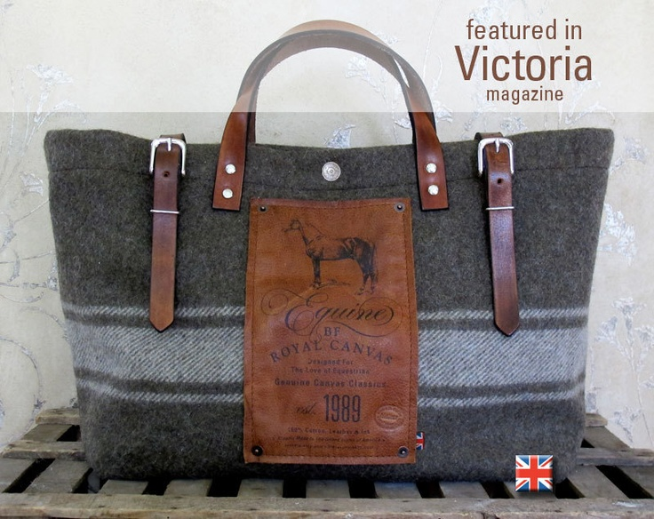 BF Equine Utility Bag. $220.00, via Etsy.