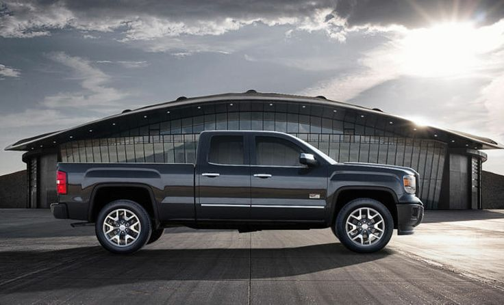 all terrain truck | Side view of a 2014 GMC Sierra All Terrain Truck