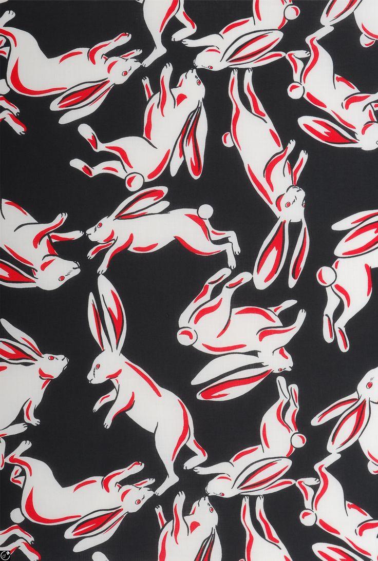 Bunny Dance print by Eley Kishimoto
