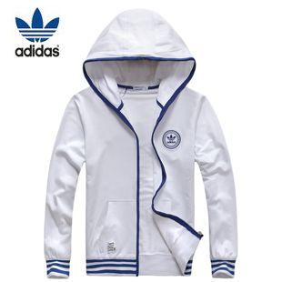 Весенние белые спортивные Adidas счетчик подлинной закупкам мужской свитер хлопка толстовка с капюшоном куртки - Taobao