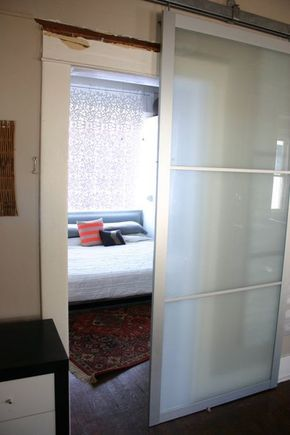 Pax Armoire Doors Get New Life As Barn Doors   IKEA Hackers. Ikea Sliding  DoorIkea Closet ...