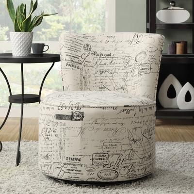 Viva Swivel Accent Chair Home Accessories Armless Accent