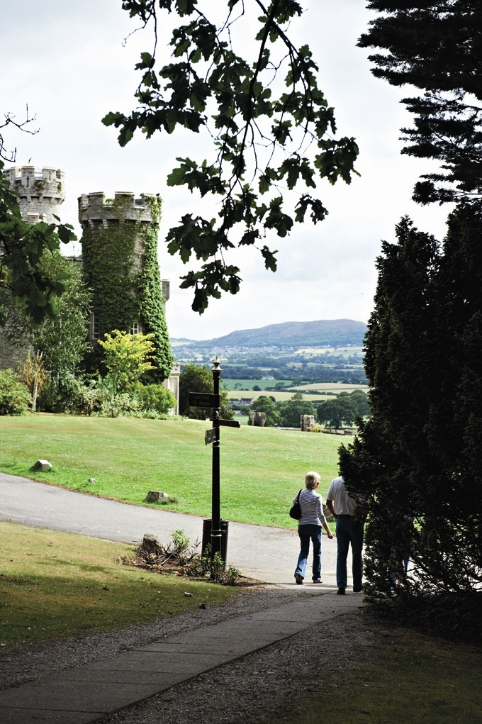 The Grounds At Bodelwyddan Castle Warner Hotel