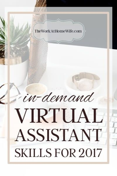 If you are looking to up your game, and your rates, in 2017, here are a few of the skills in-demand virtual assistants will likely be needing.