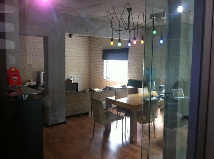 Siyah Kumaş Kablolu 7'li Sarkıt - Black Fabric Cable Pendant - #kumaskablo #avize #aydinlatma #sarkit #lighting #chandelier #fabric #decorative #dekoratif #kablo #decoration #dekorasyon #mimari #architect #led