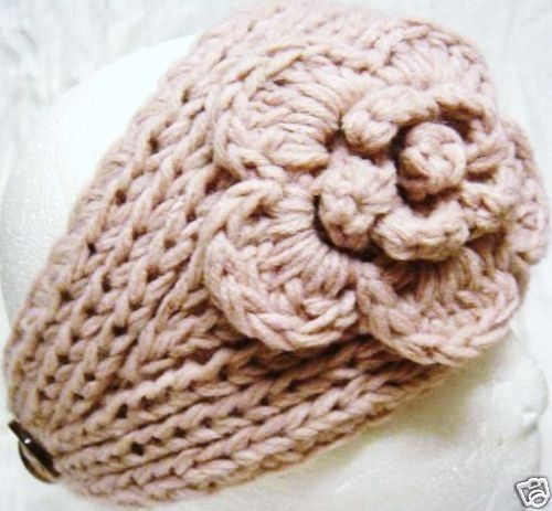 Free Crochet Pattern Headband Ear Warmer Button : 756 best images about Crochet Headbands & Ear Warmers etc ...