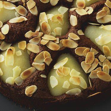 Schoko-Birnenkuchen Rezept | Küchengötter