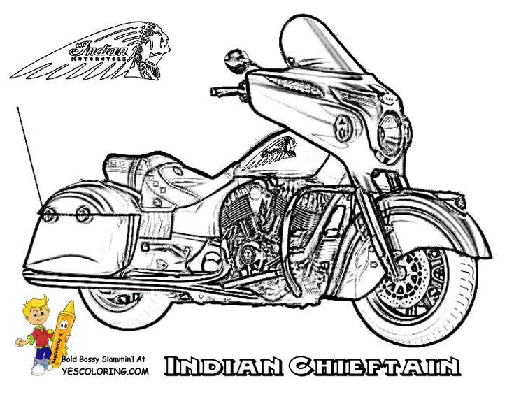 Free Cool Coloring Motorcycles Like Real KTM Indian And Ferrari Print Out Motorcycle Sheets Of Jackets