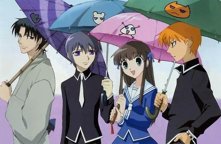 Fruits Basket Anime 2001 Fruits Basket Manga Fruits Basket Anime Fruit Basket Anime