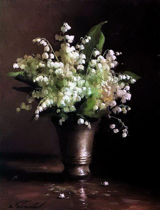 Wild Flowers, by Sergei Tutunov
