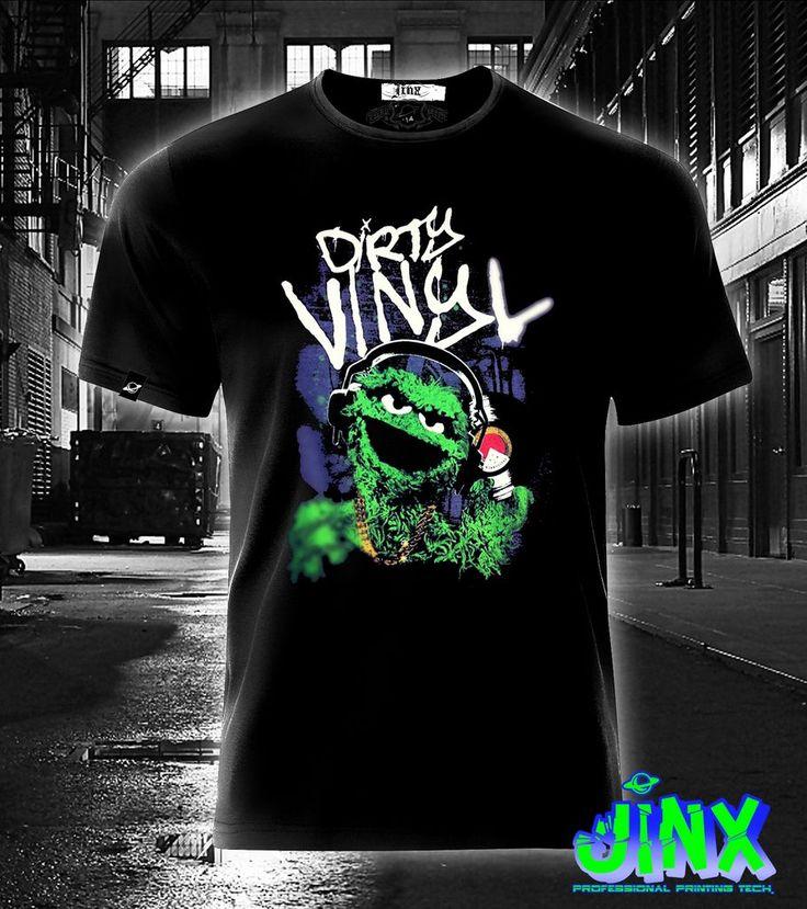 $179.00 Playera o Camiseta Oscar Basura Plaza Sesamo Dirty Vinyl