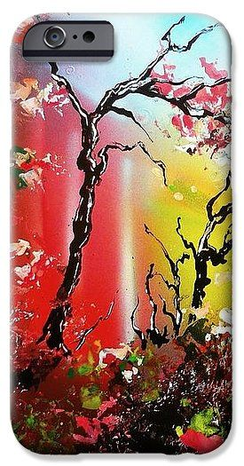 Inner Light IPhone 6s Case Printed with Fine Art spray painting image Inner Light by Nandor Molnar (When you visit the Shop, change the orientation, background color and image size as you wish)