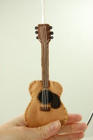 .guitar ornament