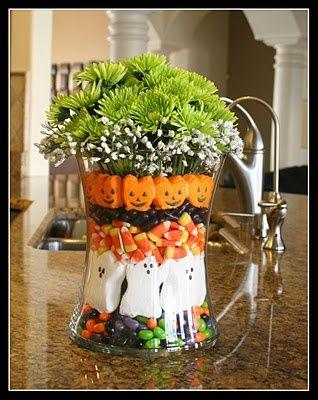 peepsHoliday, Halloween Decor, Halloween Candies, Cute Halloween, Candies Corn, Cute Ideas, Halloween Centerpieces, Halloween Ideas, Center Piece