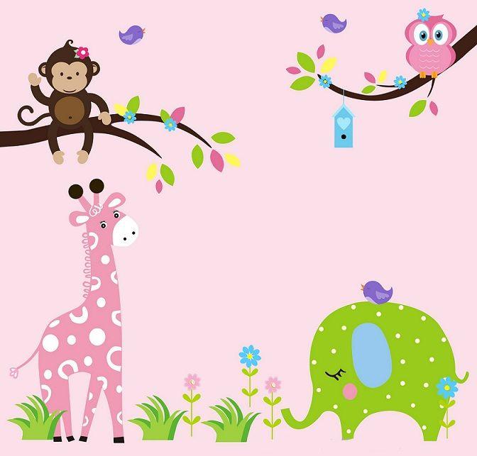 Giraffe Decals For Nursery