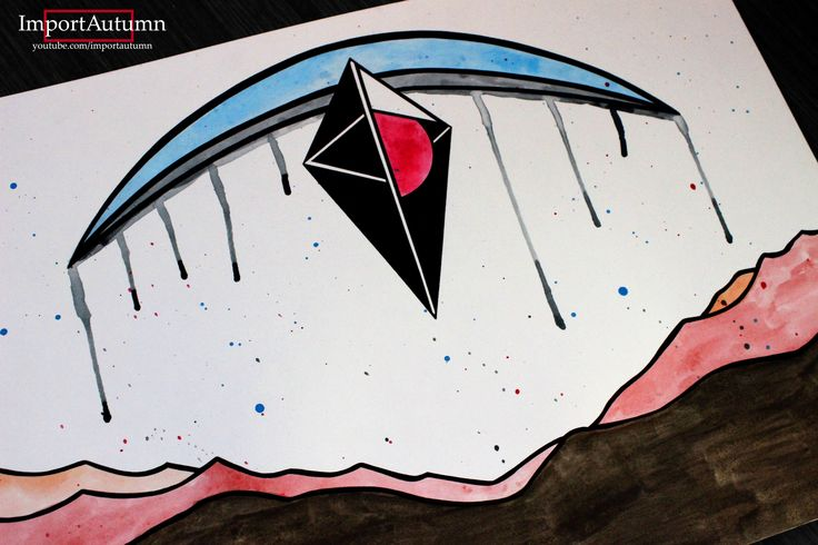 Drawing No Man's Sky logo! Watch me draw it on my Youtube account: www.youtube.com/importautumn