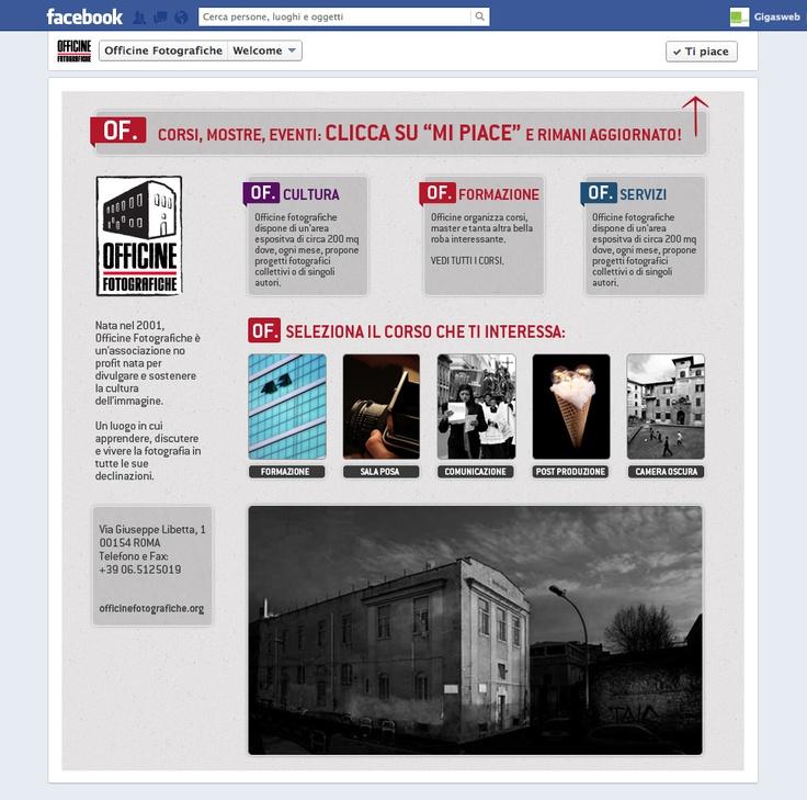 Cliente: Officine Fotografiche Attività: Realizzazione creatività e sviluppo fanpage interattiva.