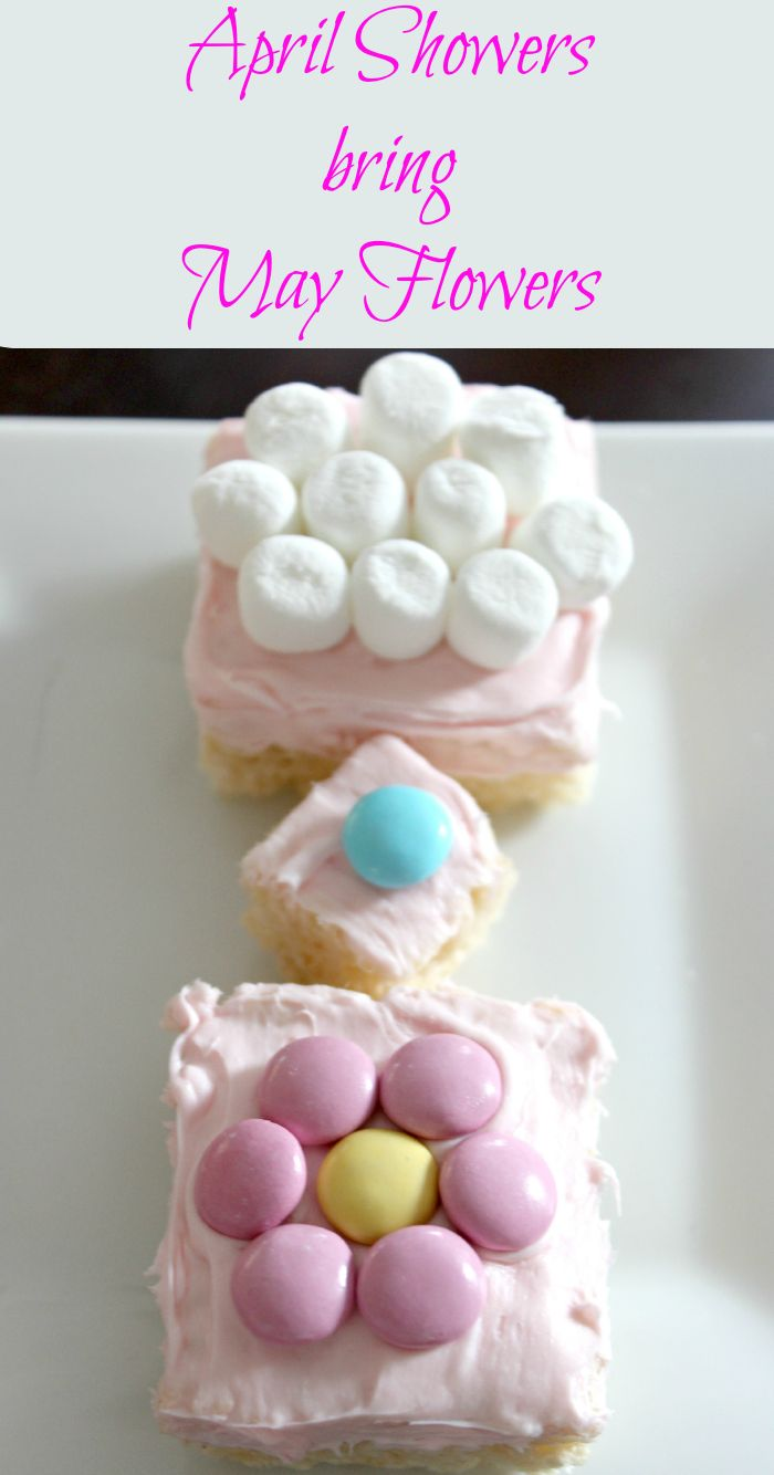 Baby shower rice krispy treat ideas - Perfect Dessert For A Sprinkle Shower A Second Baby Shower Rice Krispie Treats Decorated