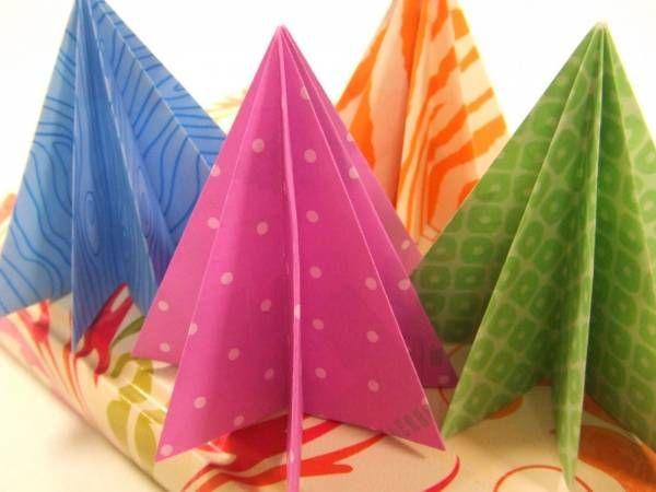 d'autres sapins origami